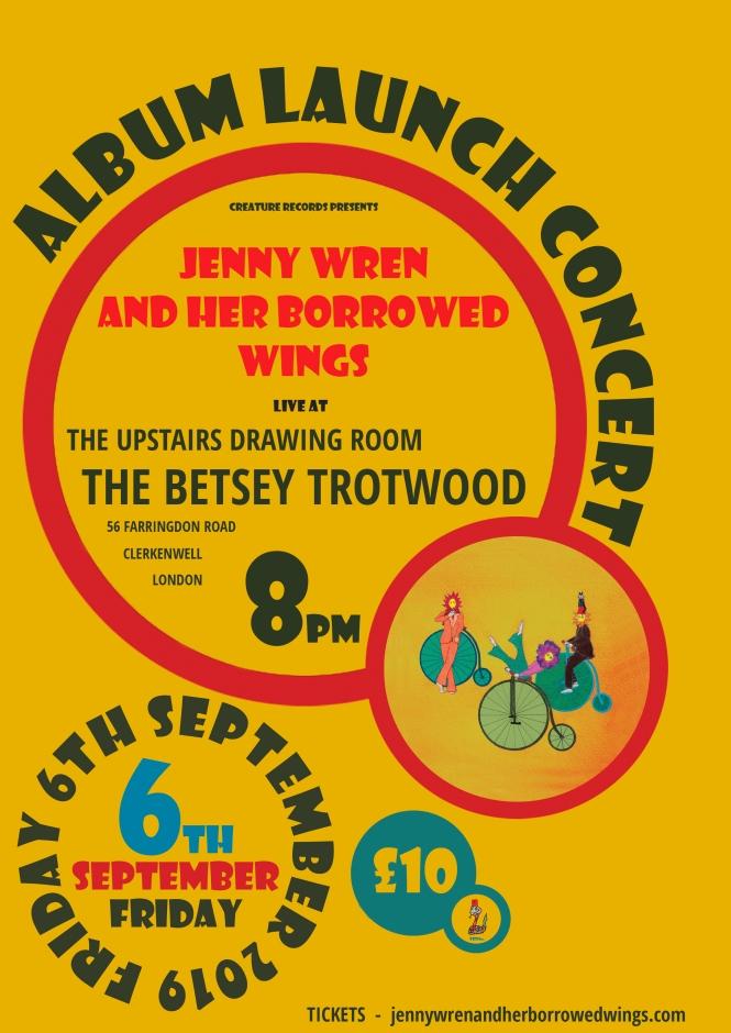 album launch betsey trotwood 06.09.19