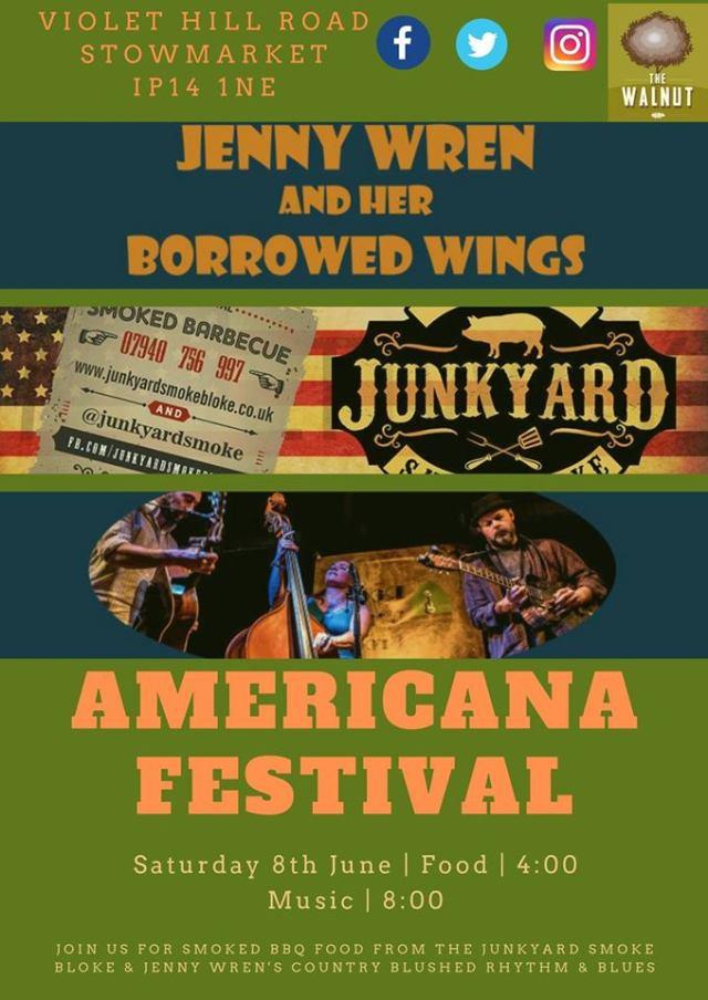 Americana Festival - The Walnut 08.06.19