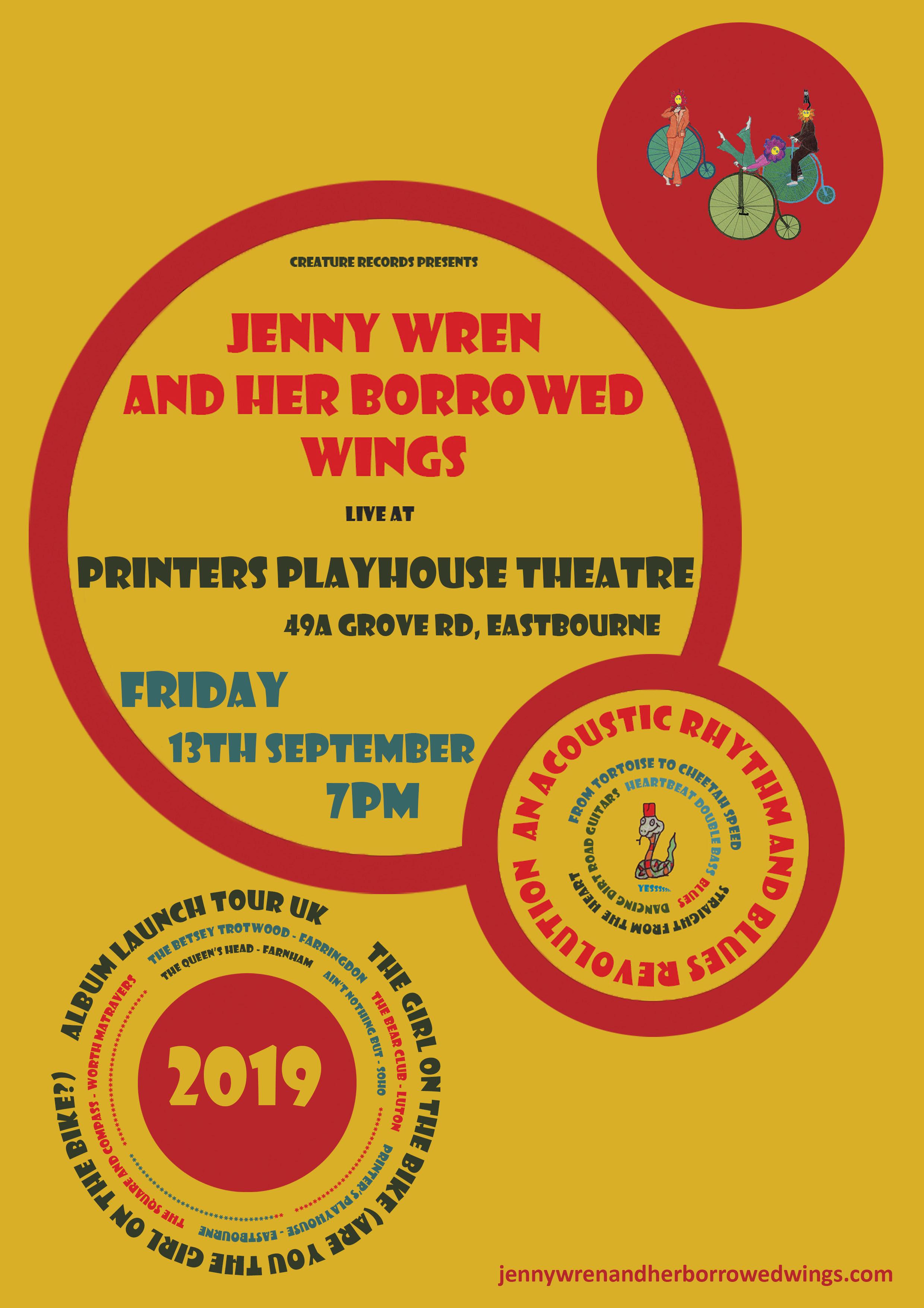 03.printers playhouse 13.09.19 - uk 2019 poster