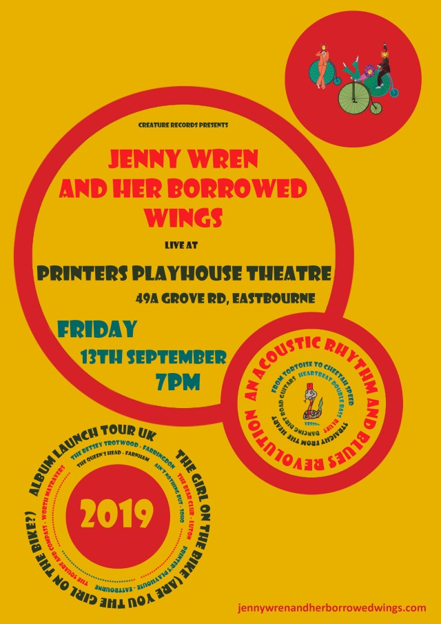 03.printers playhouse 13.09.19 - uk 2019 poster