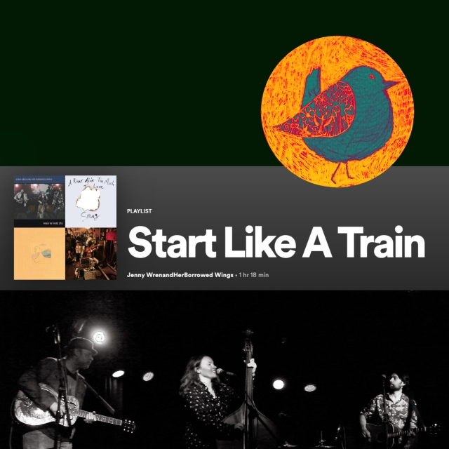 playlist image - start like a train instagram copy