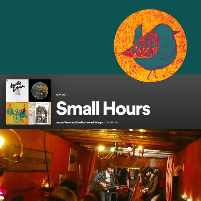 playlist image - small hours